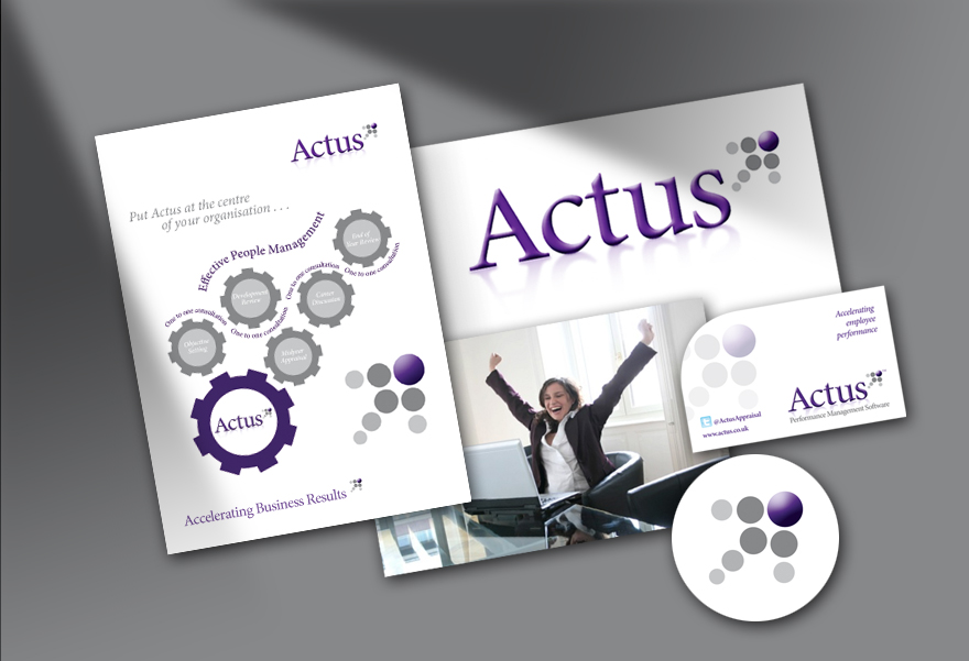 Actus corporate Identity by Whiteing Desing