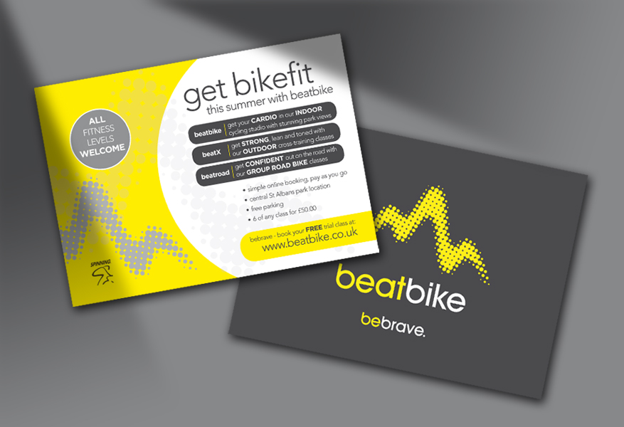 beatbike promotional flyers